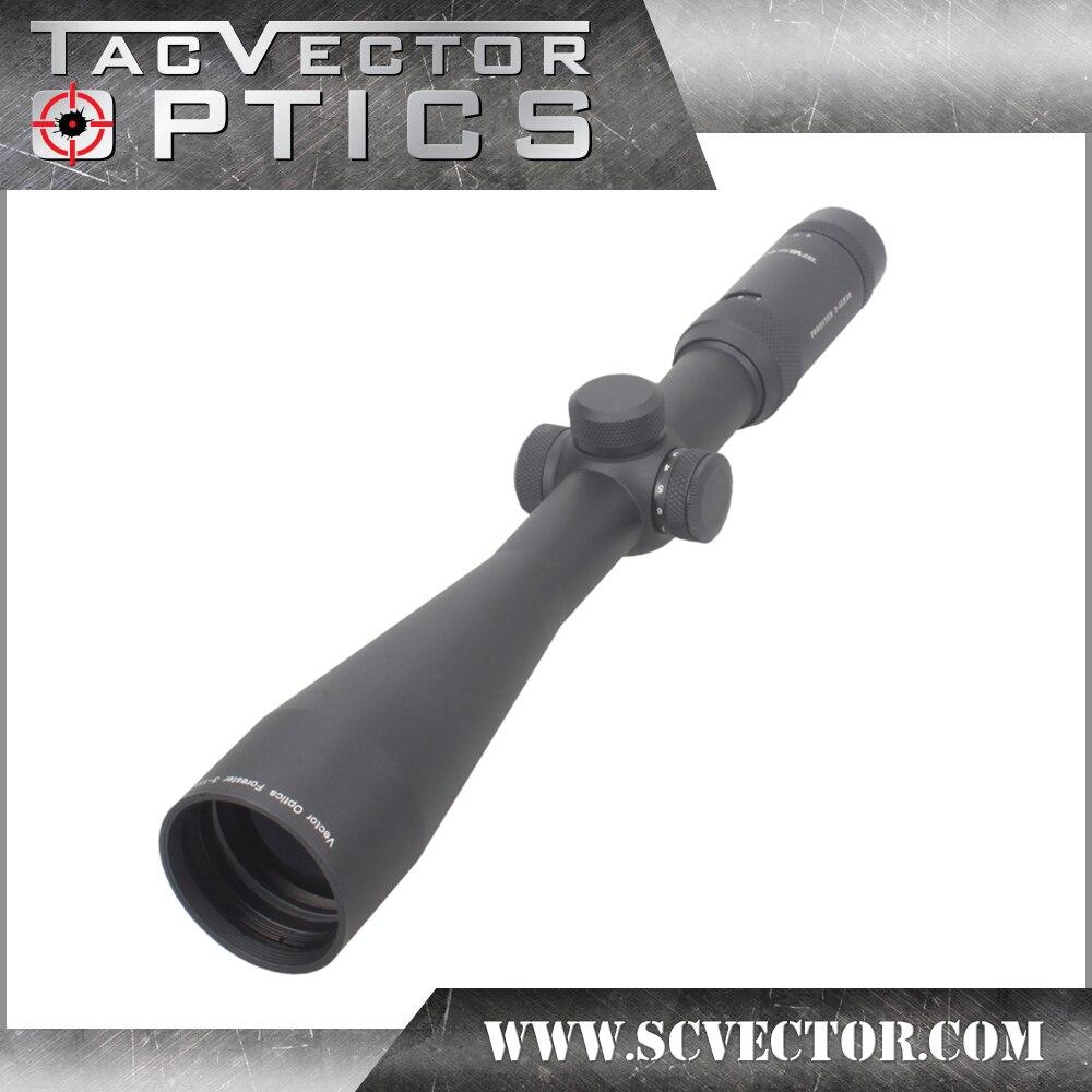 Vector Optics Forester 3-15x50 IR lunette de visé Super Lumineux Clair Sans Bord Image Haute Quingity 30mm Rilfescope pour La Chasse Tirer