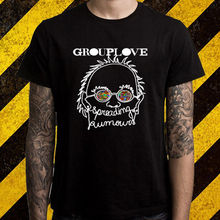 Grouplove Spreading Rumours Indie Rock Band Men's Black T-Shirt Size S To 2XL T-Shirt Good Quality T Shirt Tops