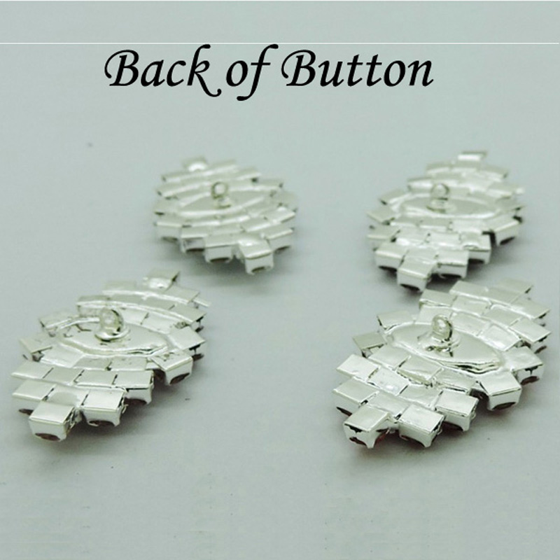 21X35mm Large Crystal Embellishment Rhinestone Button with shank Bridal  Accessories invitations 30pcs RMB040-in Buttons from Home   Garden on  Aliexpress.com ... 405ffca6070f
