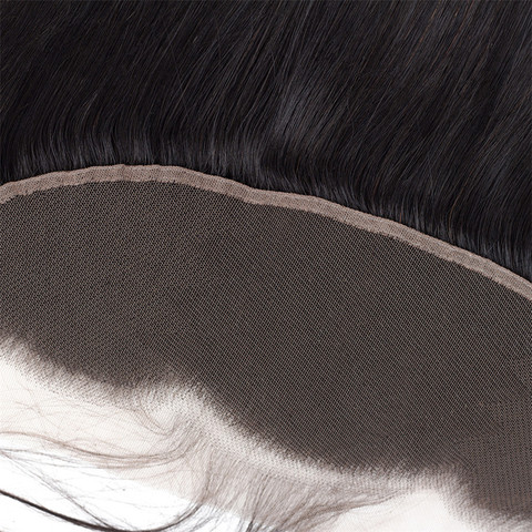 Bling Hair 13x6 Lace Frontal Closure Malaysian Straight Human Hair Closure with Baby Hair 100% Remy Hair Closure Natural Color Islamabad