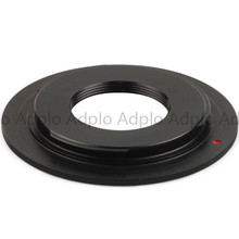 Pixco lens adapte work for Macro C Mount Lens to Nikon AI F