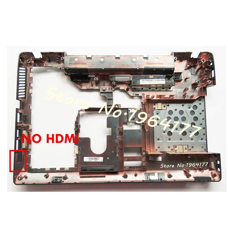 New laptop Bottom <font><b>case</b></font> cover For <font><b>Lenovo</b></font> <font><b>G560</b></font> G565 Black D shell MainBoard Bottom Casing Lower <font><b>Case</b></font> without HDMI image