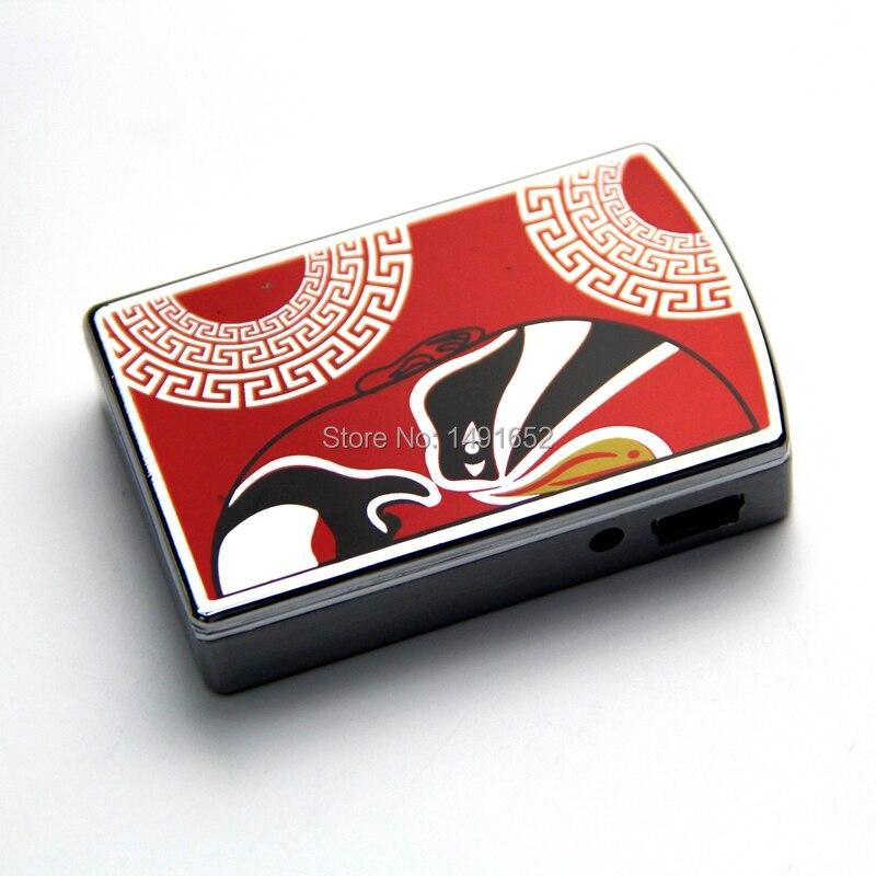 peking opera personalized charge lighter windproof usb font b electronic b font font b cigarette b