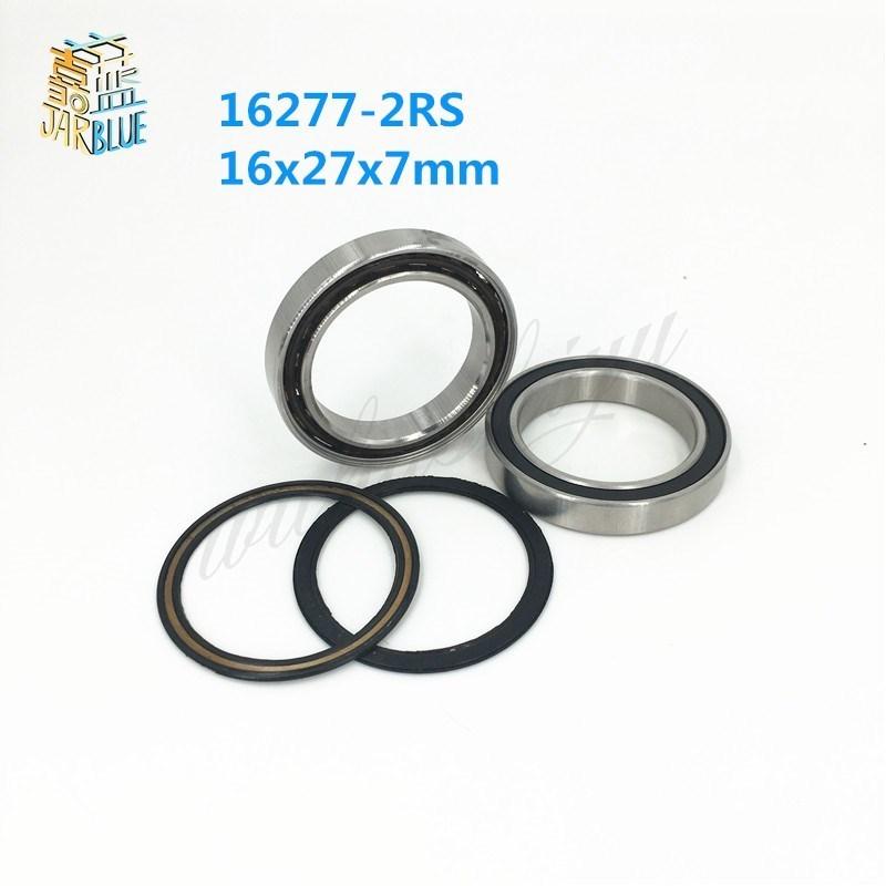 Free shipping 16277-2RS hybrid ceramic ball bearing 16x27x7mm 16277 2RS bike wheels bottom bracket repair bearing axk free shipping 1pcs 6901 2rs hybrid ceramic si3n4 ball 61901 ceramic bearing 12 24 6mm 6901 2rs