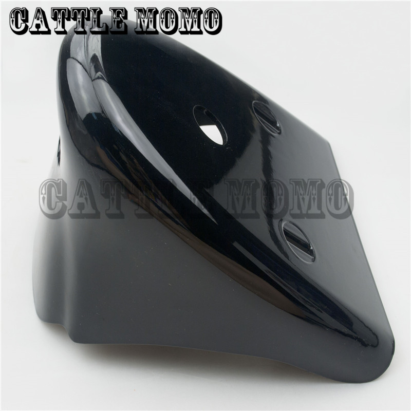Bright Black Motorcycle Front Bottom Spoiler Mudguard For Harley Sportster 1200 XL Iron 883 2004-2010 2011 2012 2013 2014 2015