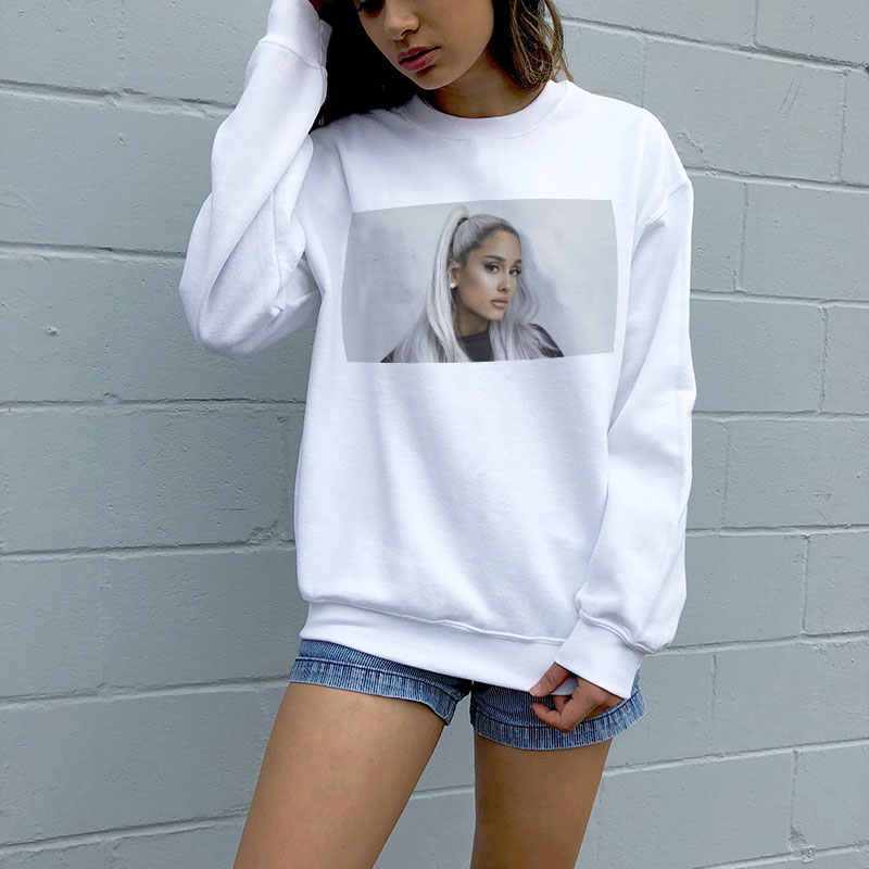 diseño atemporal d75b8 a5f03 New Vogue Sweatshirt Ariana Grande Sweatshirt No Tears Left ...