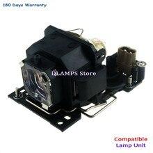 DT00821 Alta Qualidade Lâmpada Do Projetor com alojamento Para HITACHI CP-X3 CP-X5 CP-X5W CP-X3W CP-X264 HCP-610X Com garantia de 180 dias