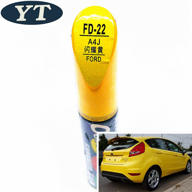 Ford Focus 00-07 2pcs Yellow Hood-Support Prop Rod Grommet OEM W700510S300
