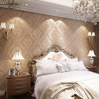 beibehang papel de parede 3D Damascus relief wallpaper for walls 3 d Bedroom Modern Living Room mural Wall Paper wall paper