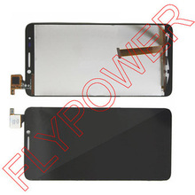 black LCD Display +digitizer touch Screen FOR Alcatel One Touch Idol OT6030 6030D OT-6030D OT-6030X OT-6030A by free shipping