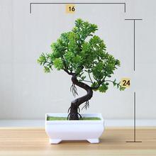 New artificial plant bonsai small tree potted fake decoration home hotel garden
