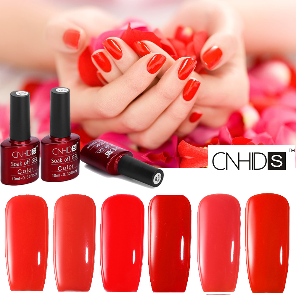 Gel Nagellack Mit Uv Lampe Us 2 59 Cnhids 132 Farben Soak Off Gel Nagellack Uv Led Lampe Gel Lacke Nail Art Maniküre Rot Polish Nagellack Lack In Cnhids 132 Farben Soak Off