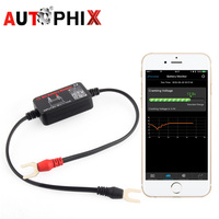 12V Bluetooth 4.0 Car Battery Monitor Tester Diagnostic Tool For Android IOS Iphone Digital Analyzer Battery Measurement Units