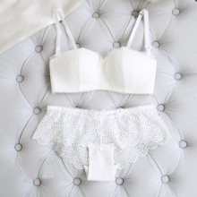 Transparent Lace Bra and Panty Set