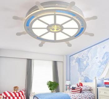 Детская комната, акриловый светодиодный потолочный светильник для детей Спальня потолочные светодиодные светильники Кухня Холл ресторана...