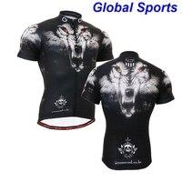 2017 marke mann radfahren jersey tiger kopf kurzarm jersey fahrrad clothing für frühling sommer herbst