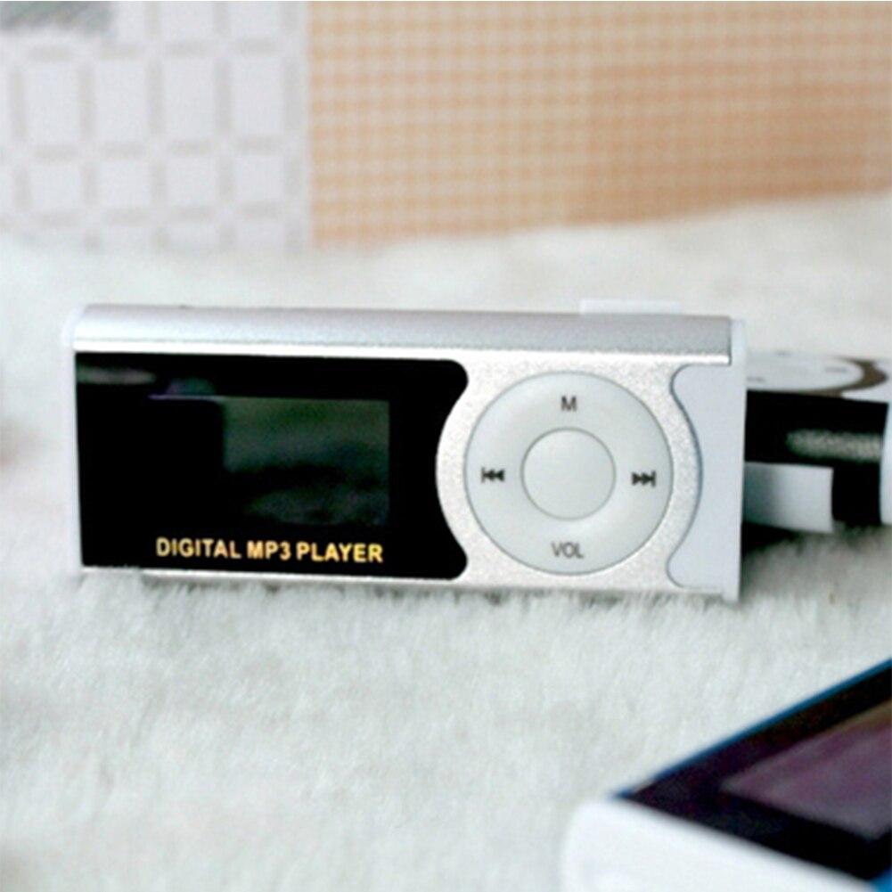 Unterhaltungselektronik Professioneller Verkauf Neue Lcd-bildschirm Metall Clip Mp3 Player Mit Micro Tf/slot Mit Kopfhörer Und Usb-kabel Tragbare Mp3 Musik Spieler Erfrischung