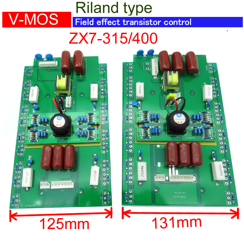 Up card of control board for  ZX7-315 ZX7-400 inverter mosfet  mma welding machine AC380V inverter welding machine 22 3 2pcs lot board transformer eer42x15 compatible eer43x15