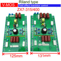 Up card of control board for ZX7 315 ZX7 400 inverter mosfet mma welding machine AC380V