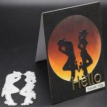 ZhuoAng Wonderful dance Metal Cutting Mold DIY Scrapbook Album Decoration Supplies Clear Stamp DIY Paper Card костюм dance supplies