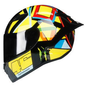 Professional Face Motorcycle Helmet Off Road For Racing DOT Approved Capacete De