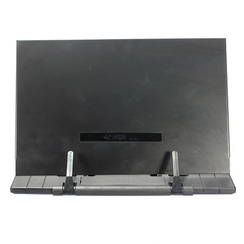 Image 4 - GSFY Adjustable Angle Foldable Portable Reading Book Stand Document Holder Deskstand collar coat womenstand ventilatordesk hub -