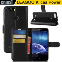 10 Pcs Lot Wallet PU Leather Case Cover For LEAGOO Kiicaa Power Flip Protective Phone Back
