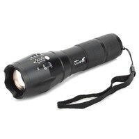 UltraFire A100 White Light LED Flashlight T6 XM L 5 Mode Zooming Flashlight LED Lamp Zoomable