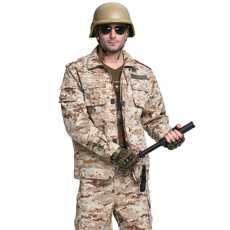 Nouveau hommes uniforme militaire grande taille MARPAT Deser Camouflage outillage vêtements costumes militaire entraînement physique vêtements M ~ 4XL BF1