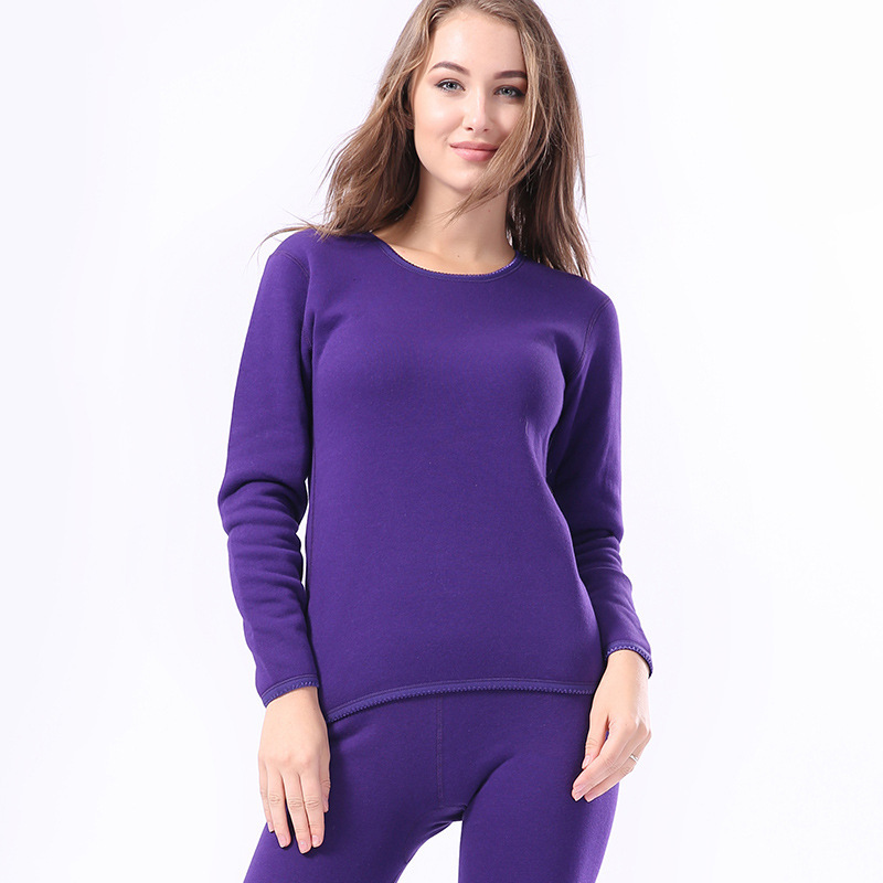 Plus Size 3XL Couple Keep Warm Pajamas Suit Winter Thermal Underwear Casual Lovers Body-shaping Long Johns Tops Bottom Clothes
