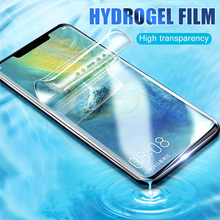 8D Full Cover Soft Hydrogel Film For Huawei P30 P20 Pro Mate 20 Pro Lite Screen Protector For Honor 8X Max 10 9 Protective Film full protective hydrogel film for huawei p20 lite p20 pro mate 20 lite cover screen protector honor 8x max v10 note 10 nova 3 i