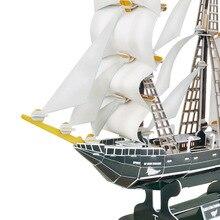 3d Rompecabezas DIY Modelo de Barco de Juguete o Afición Barco Decorativo para Niños