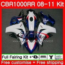 Bodys For HONDA CBR1000 RR CBR 1000 RR 08 11 59HS19 CBR1000RR 08 09 10 11 CBR 1000RR 2008 2009 2010 2011 Fairings