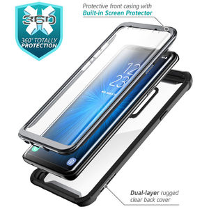 Image 2 - For Samsung Galaxy S9 Case 2018 Original i Blason Ares Series Full Body Rugged Clear Bumper Case with Built in Screen Protector