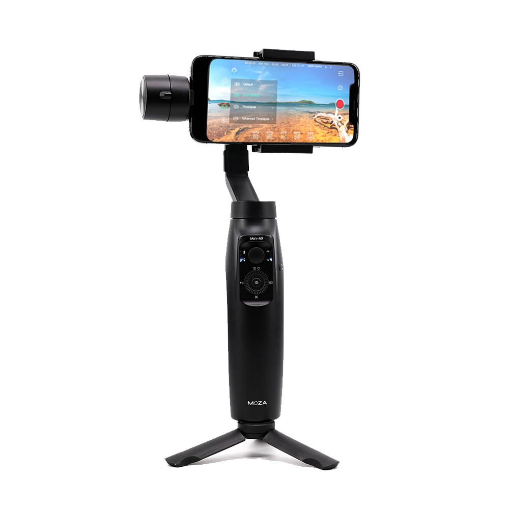 Stabilisateur de cardan portable 3 axes Moza mini-mi pour Smartphone iPhone X 8 Plus 7 6 S Samsung Galaxy S9 S8 S7 P10 Mate10 MI 8 Mix 2