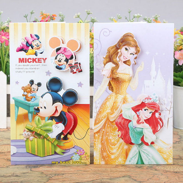 Aliexpress Buy 8pcsset 3d Flash Powder Cute Cartoon Greeting