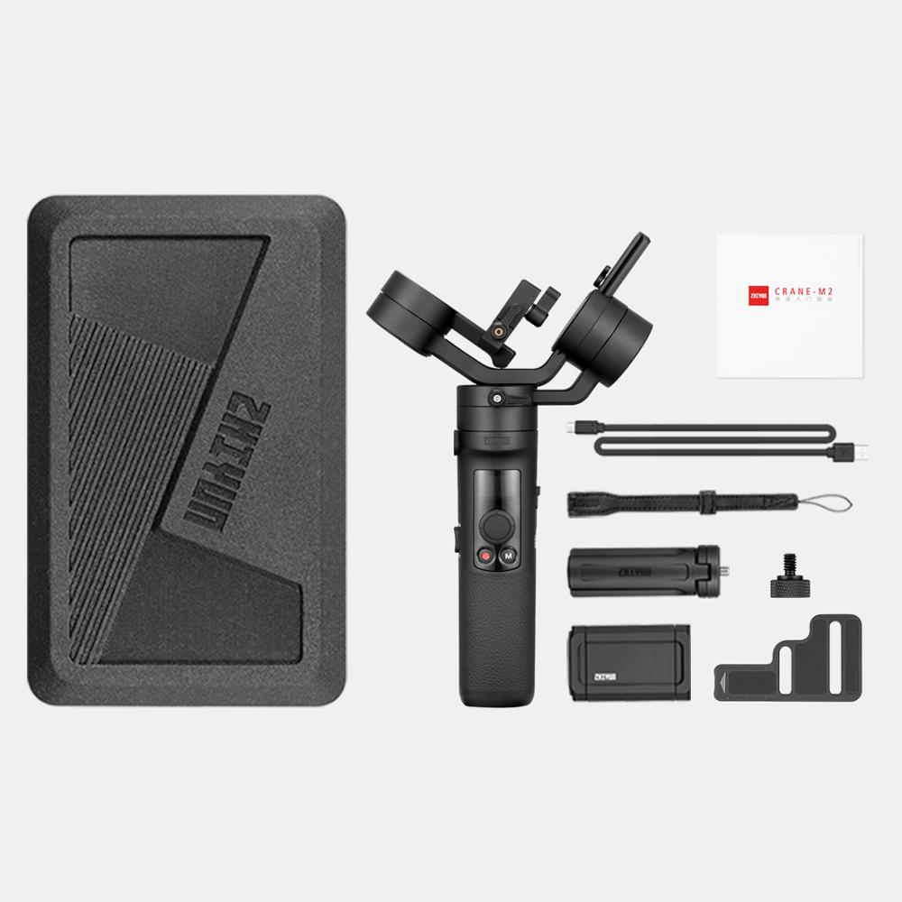 Image 5 - ZHIYUN Official Crane M2 Gimbals for Compact Mirrorless Action Cameras Phone Smartphones New Arrival Handheld Stabilizer 500gHandheld Gimbals   -