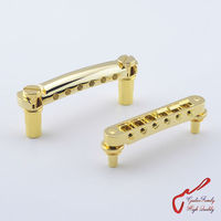 One Set Golden PW Tune O Matic Electric Guitar Bridge And Tailpiece For Standard SG DOT