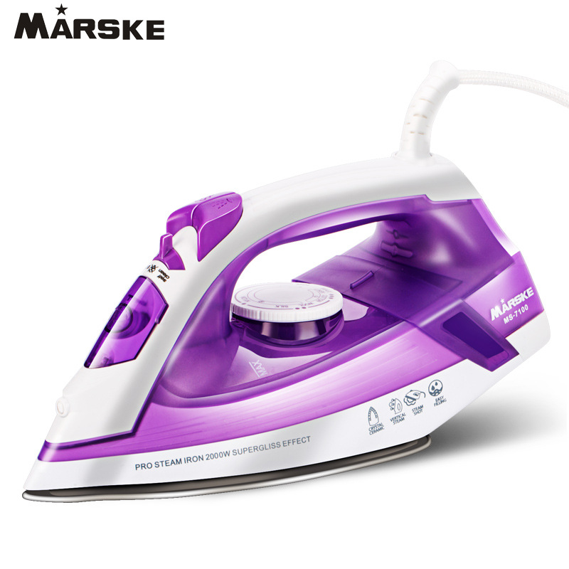 Household Steam Iron for Clothes Ceramic Selfcleaning Steamer Iron Strong Burst of Steam steam ключи за смс