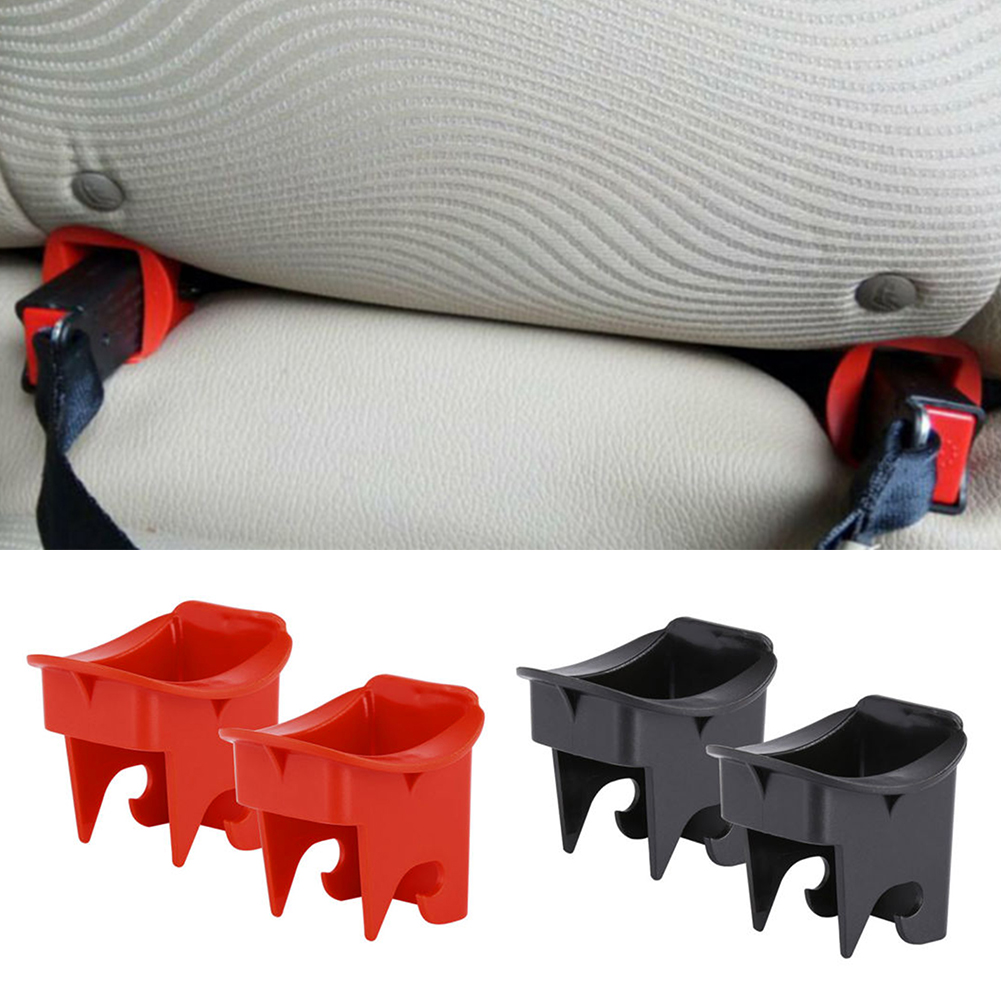 ABS Latch Connectors Car Seat Buckle Car Supplies For Baby Locater Guide Safety Seat Isofix 1 Pair