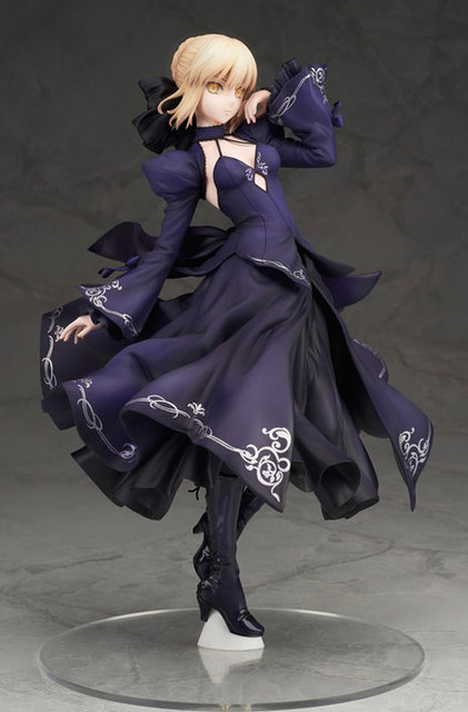 NEW hot 26cm Fate Zero Fate stay night black saber Arturia Pendragon action figure collection toys Christmas gift no box 4