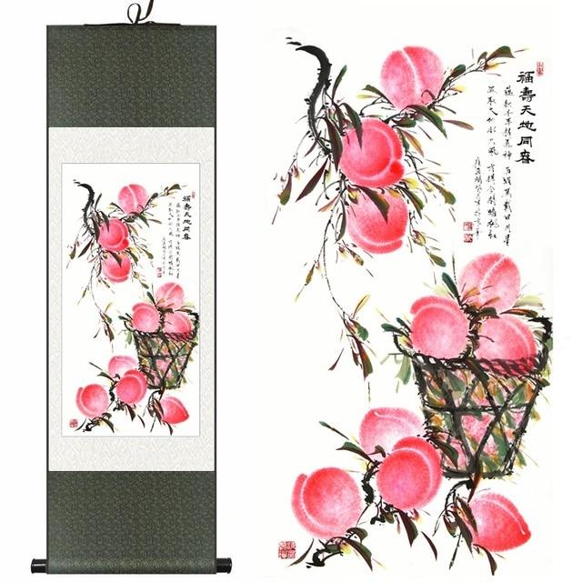 Aliexpress.com : Buy Chinese Silk Watercolor Longevity
