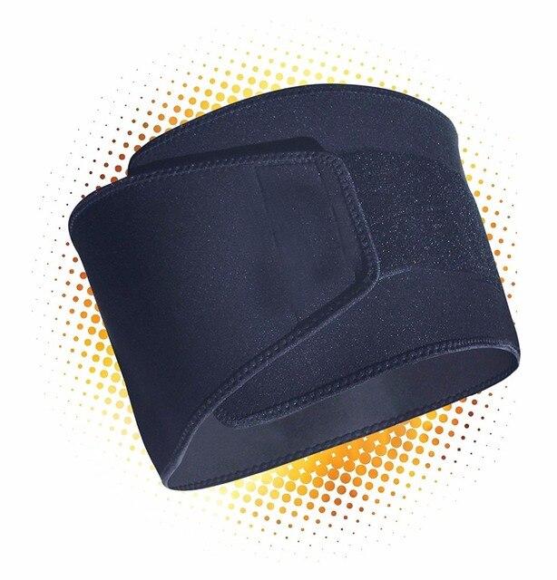 PRAYGER Neoprene Slimming Sauna Waist Cinchers Men Slimming Belt Tummy Trimmer Band  Shapewear Belt 4
