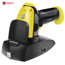 RD-I6 High-class 1D CCD Wireless Barcode Scanner IP68 Waterproof Anti-shock Dustproof with charging stand Industry & any filed