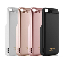 GOLDFOX 4200mAh Emergency Phone Battery Charger Case  For iPhone 5 5s SE Power bank cover External Battery Backup Charger Case
