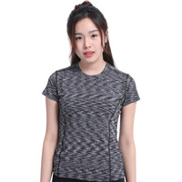 New Summer Fitness Clothing Sport Magic Female Sports T Shirt Fashion Colorful Yoga Clothes Sports T