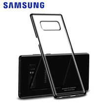 Samsung Galaxy note 8 Clear Protective Cover Original note8 Phone Case Cases and Covers 360 Cute Luxury Hard PC Black Back Cover