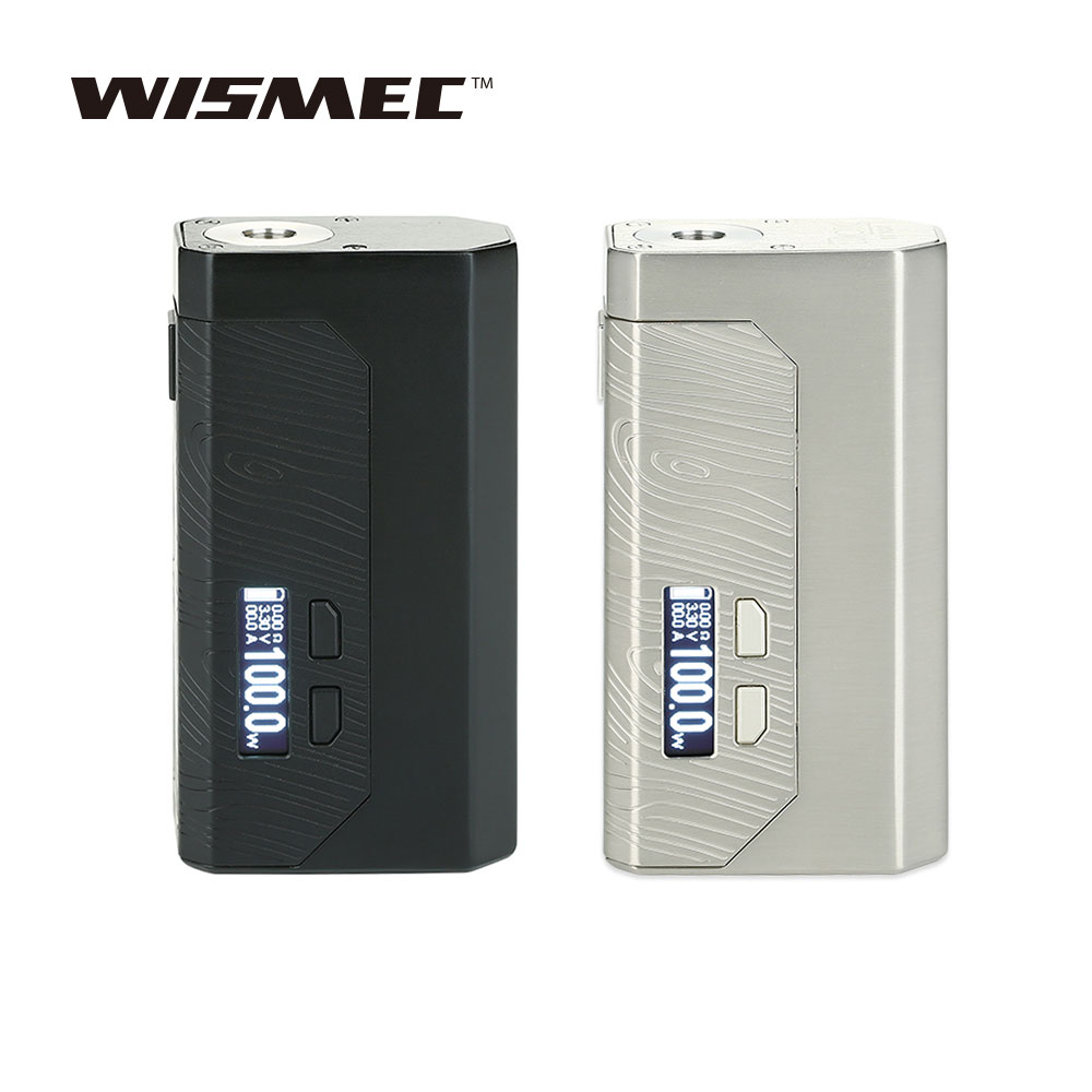 WISMEC Original Luxotic MF boîte MECH MOD avec 7 ml bouteille de Squonk rechargeable et cartes de Circuit Avatar en option VS Luxotic BF boîte Mod