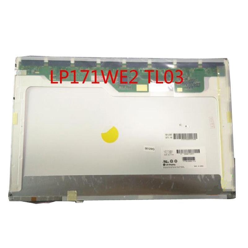 Grade A+ LP171WE3 TLA6 LP171W02 LTN170WP-L02 LP171WE2 Laptop LCD Screen Panel For HP NW9440 NX9420 brand new black laptop keyboard 409911 021 pk13zkf3f00 for hp compaq nw9440 nx9420 series eur