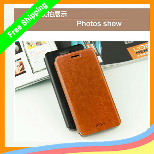 1 MOFI Newest Rui Series Flip PU Leather Case Samsung Galaxy A7 Simple Retro Business Protective Cover - Aiweising Global Source (HK store Co.,Ltd)